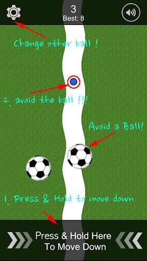 Avoid a Ball