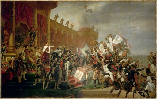The Army takes an Oath to the Emperor after the Distribution of Eagles, 5 December 1804