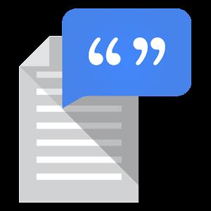 Google Tekst-naar-spraak APK