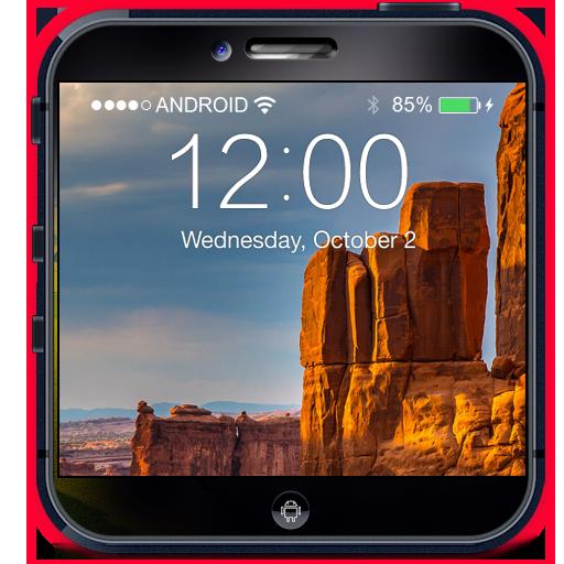 自然壁紙HD鎖屏 個人化 App LOGO-APP試玩