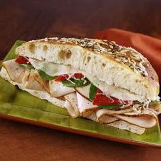 KRETSCHMAR® Turkey and Cheese Focaccia Sandwich