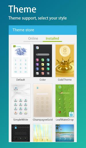 【免費商業App】HI AppLock-LeafWaterDrop Theme-APP點子