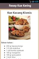 Screenshot of Resep Kue Kering