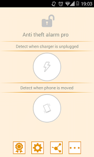 Anti theft alarm PRO - screenshot thumbnail