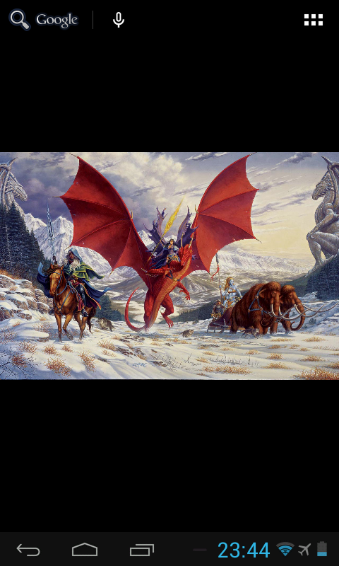 Larry Elmore Live Wallpaper- screenshot