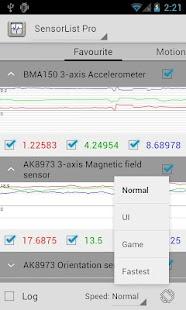 SensorList Pro - screenshot thumbnail