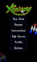 Screenshot of XGalaxy