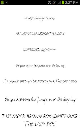 Neat Fonts for FlipFont free 3.16.1 screenshot 1962593