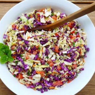 Middle Eastern Cabbage Slaw.