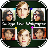 Photo Collage Live Wallpaper