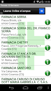 Cerca Farmacia - screenshot thumbnail