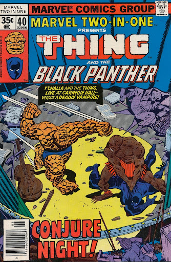 Marvel Two In One The Thing And Black Panther No 40