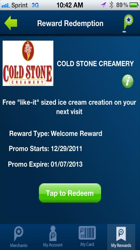 PinPoint Rewards - screenshot
