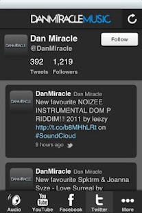Dan Miracle Music- screenshot thumbnail
