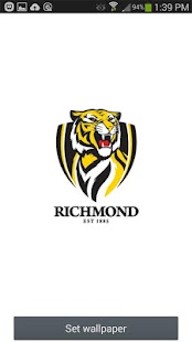 Richmond Tigers Spinning Logo- screenshot thumbnail