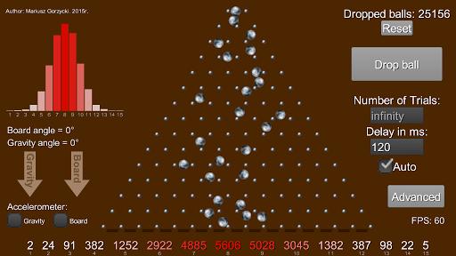 Galton Board Simulation