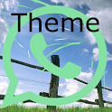 Theme To WhatsApp icon