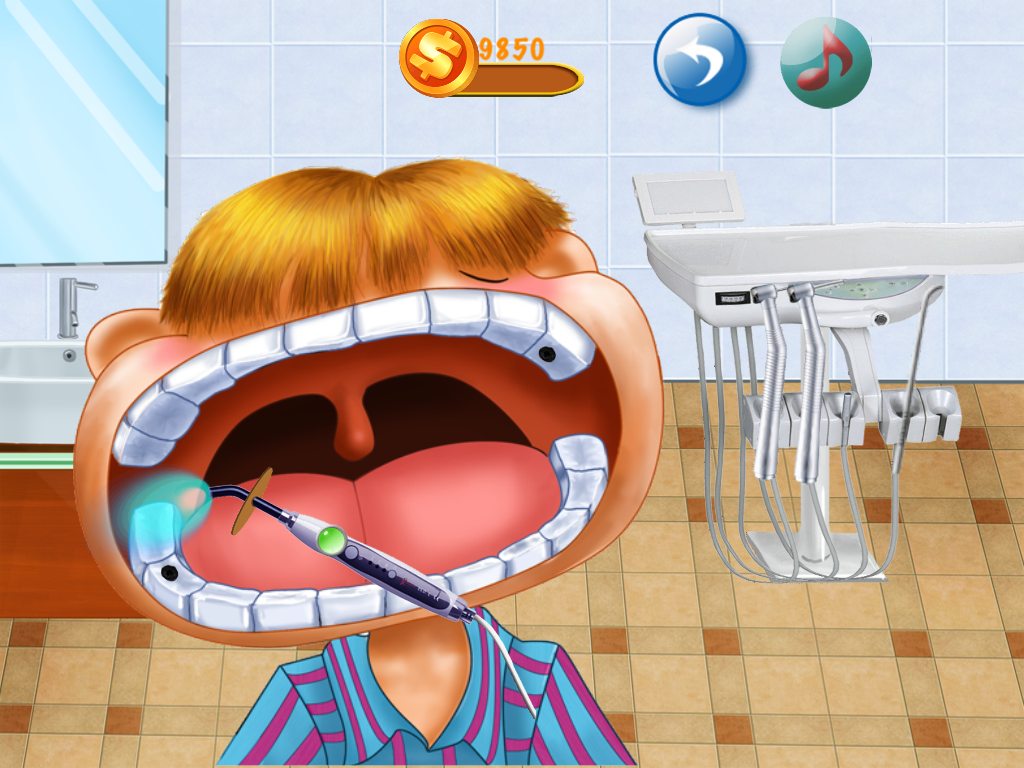 Little Dentist. - screenshot