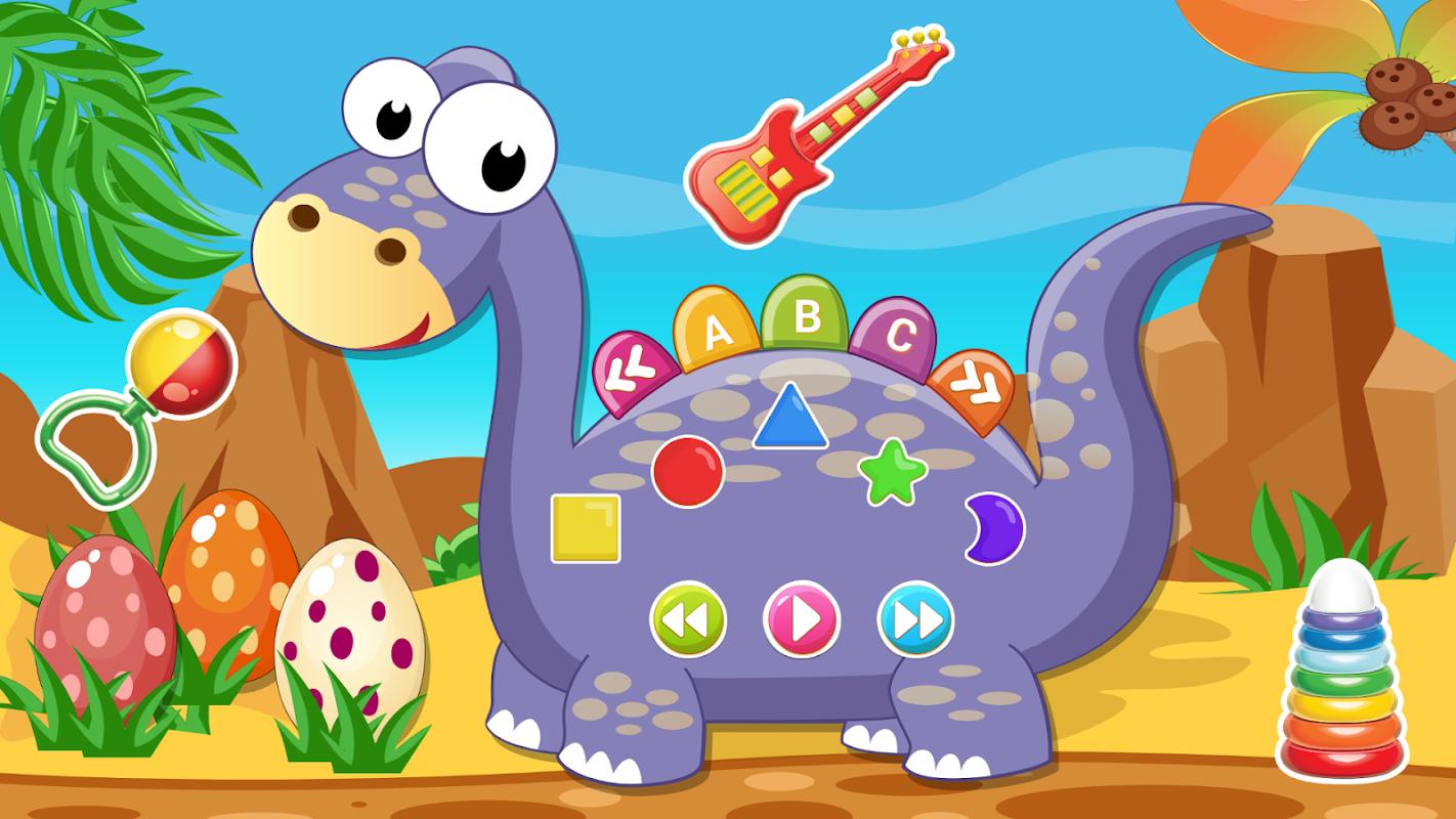 динозавры игры для малышей