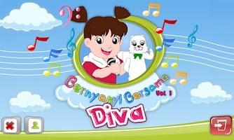 Screenshot of Bernyanyi Bersama Diva Vol.1