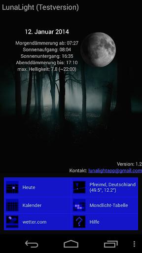 LunaLight - Mond Dämmerung