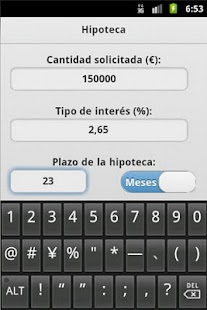 Calculadora Hipoteca - screenshot thumbnail