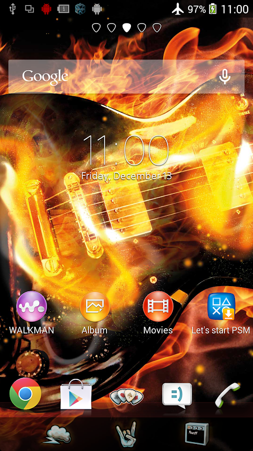 XPERIA™ Rock on Theme - Android Apps on Google Play