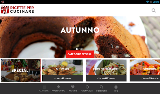 Ricette per Cucinare - screenshot thumbnail