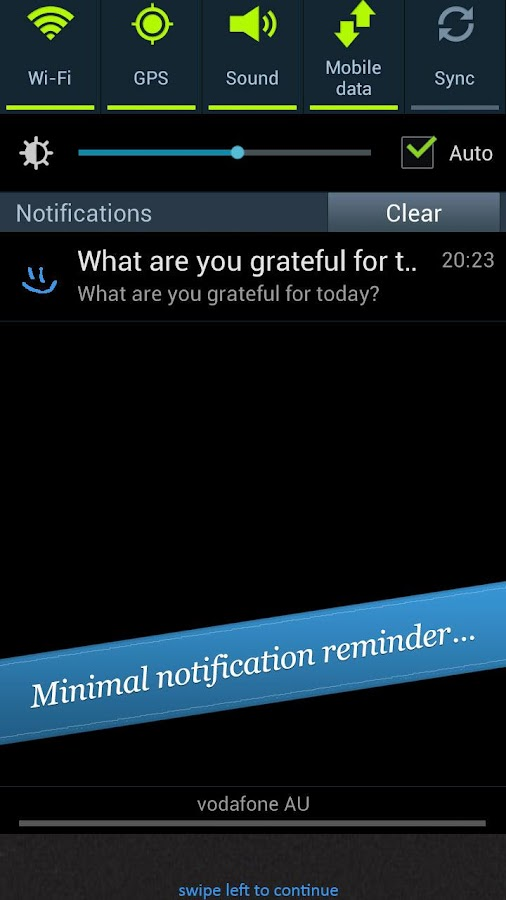 My Gratitude Journal- screenshot