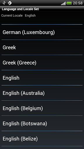 語言和區域設置