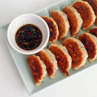 Pan-Fried Vegetable Dumplings.
