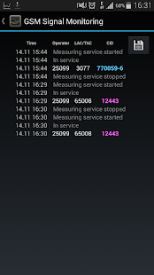 GSM Signal Monitoring- screenshot thumbnail