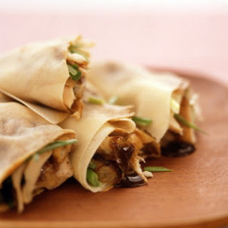 Asian-Style Chicken Wraps.