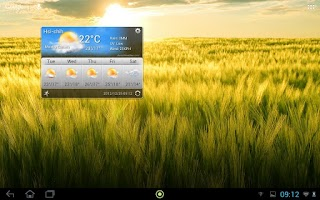 Screenshot of Acer Life Weather