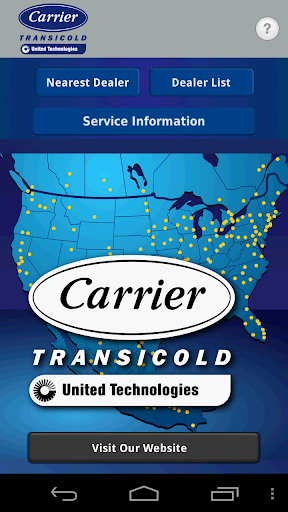 Carrier® Transicold NA Locator