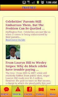 CELEBRITY GOSSIP AND HOOKUPS - screenshot thumbnail
