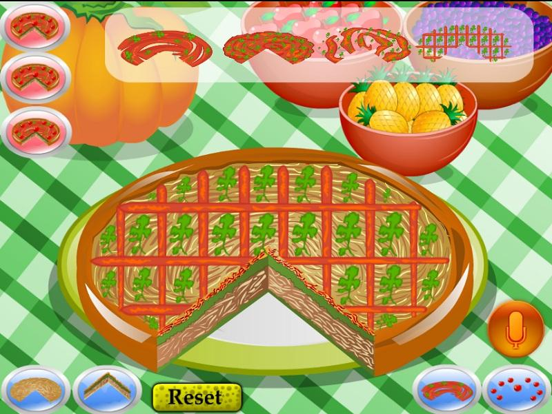 Pizza Decorating Cooking- screenshot