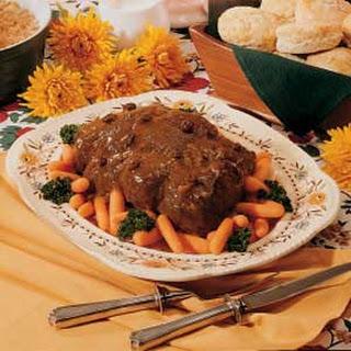 Spiced Pot Roast
