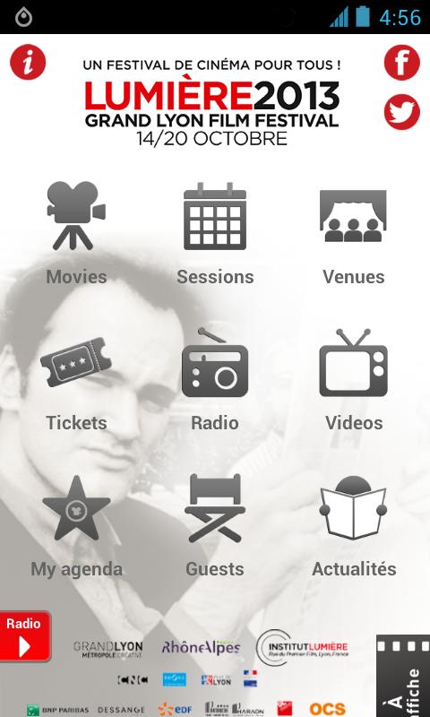 Lumière 2013 - screenshot