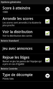 AndroBelote Free - screenshot thumbnail