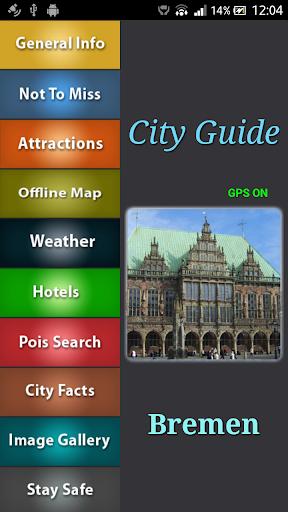 Bremen Offline Map Guide