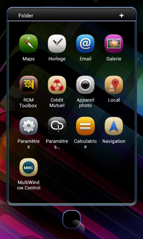 Next Launcher Theme Meego - screenshot