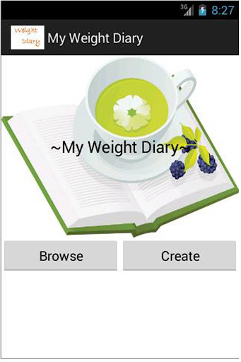 My Weight Diary