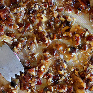 Three Wise Men, A Bourbon Bacon Brittle.