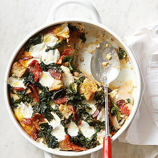 Kale, Chorizo, and Red Bean Brunch Casserole.