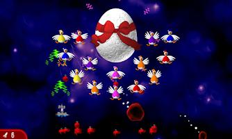 Screenshot of Chicken Invaders 2 Xmas HD
