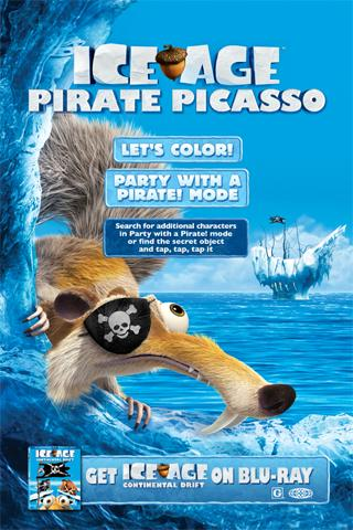 Ice Age: Pirate Picasso - screenshot