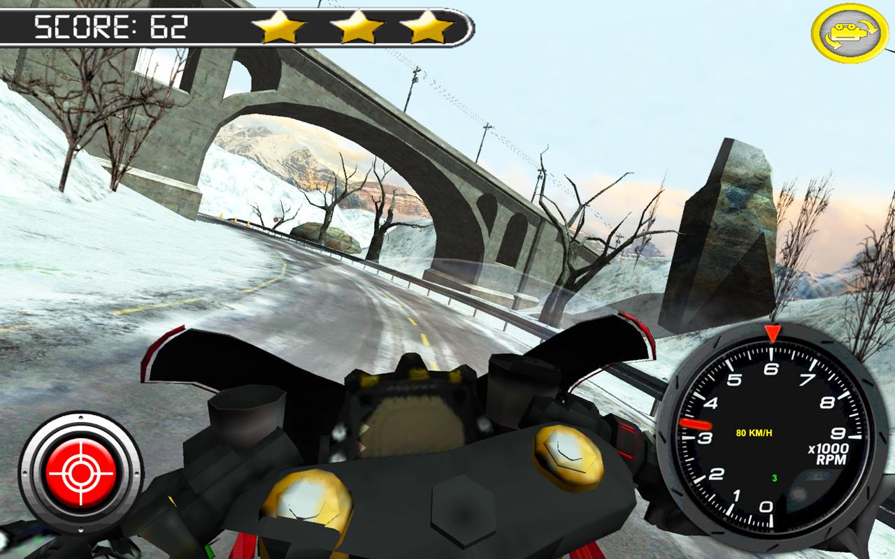 Frozen-Highway-Bike-Rider-VR 21