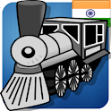 IndRail Indian Railway App logo