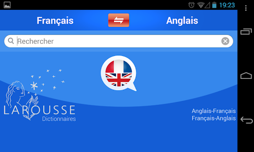 English-French dictionary - screenshot thumbnail